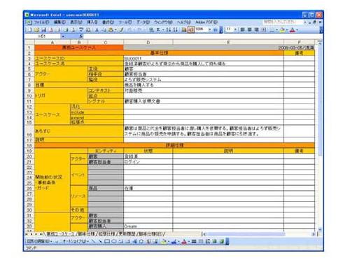 Excelによるモデル記述